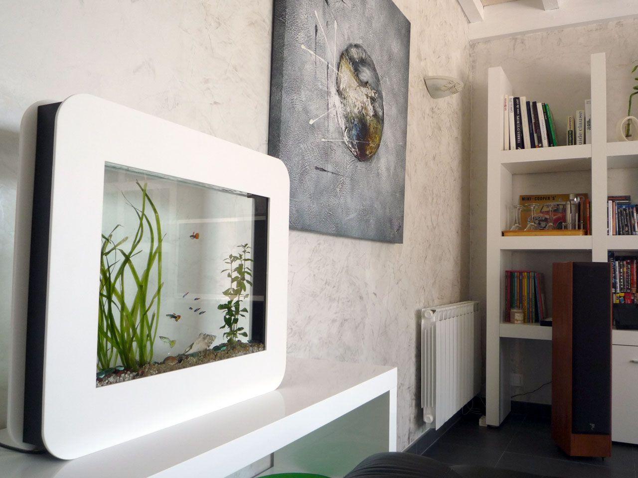 aquaslim aquarium plat et extra plat design by technologic